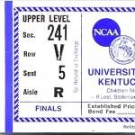 UniversityKentuckyD 150x150 NCAA Final Four 1985   Georgetown v. Villanova