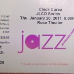 Chick Corea Ticket Stub 150x150 Chick Corea   Wynton Marsalis and Lincoln Center