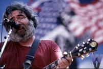Jerry Garcia 1985 The Fat Man Rocks Merriwether   1985