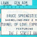 Springsteen Shoreline Stub 150x150 Tunnel of Love Express   Springsteen