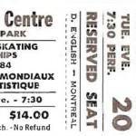 World Figure Skating Stub 150x150 World Figure Skating Championships, Ottawa, 1984