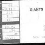 Cosmos Ticket Stub 150x150  Franz Beckenbauer Day