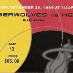 Miami Heat Ticket Stub 150x150 Closing the Miami Arena
