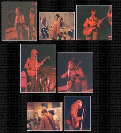 allmans ticket stub1 the allman brothers 1971