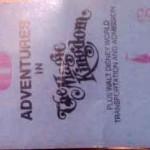 Disney MagicKingdom Ticket 150x150 My first trip to Disney