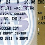 USA Chile Ticket Stub 150x150 When Soccer Outlaws put their minds to something....
