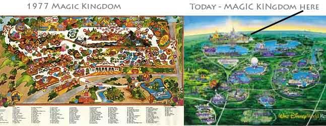 disney maps My first trip to Disney