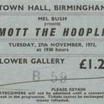 queen ticket stub 150x150 Queen in Birmingham, UK   1973