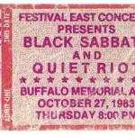 Black Sabbbath TIcket Stub 150x150 Sabbath   1983