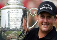 phil mickelson 2005 PGA   Mickelson gets his 2nd Major
