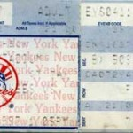Fritz Yankee Ticket Stub 150x150 Opening Day and a No Hitter   2 Games 1 Ticket