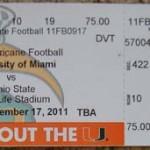 Miami Ohio State Ticket 150x150 The Buckeyes head down to the U
