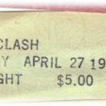 the clash ticket stub 150x150 $5.00 bucks to be a part of history