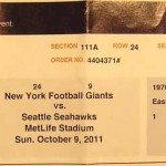 Giants Seahawks Ticket 150x150 Giants drop one to the Seahawks
