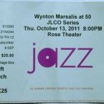 Wynton Marsalis at 50 Ticke 150x150 Wynton Marsalis turning 50