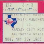 Rangers-Royals-Ticket-Stub