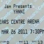 yanni sears center 150x150 Yanni in Concert...A Dream Come True Event