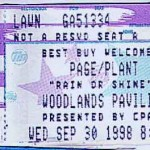 page plant ticket stub 150x150 Page and Plant   Their Unleaded Tour