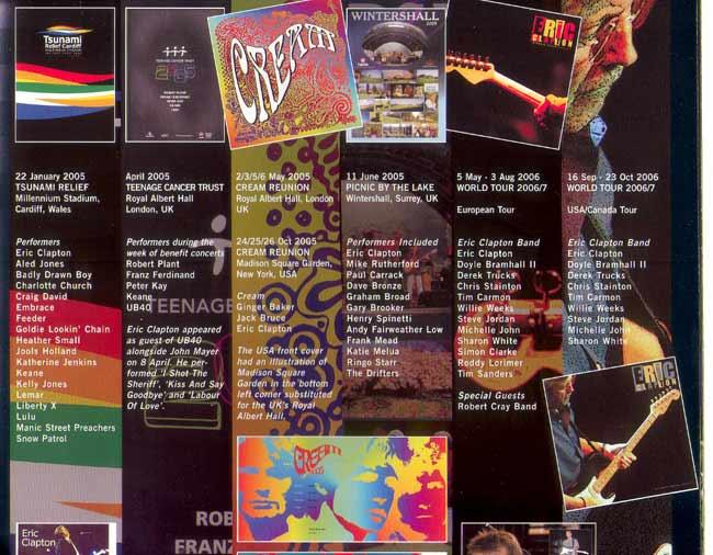 Clapton Albums Eric Clapton remains a guitar god