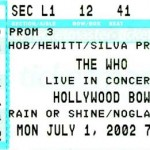 The Who Hollywood Bowl 150x150 THE WHO at the Hollywood Bowl!