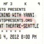 Yanni Seattle Concert Ticke 150x150 Yanni   The best concert event yet in Seattle