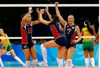 uswomensvolleyball The Olympics in London