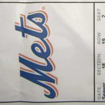 Priates Mets Ticket 150x150 David Wright set the Mets career hits record