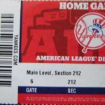 Yankees ALDS Ticket 150x150 It's all A Rod fault