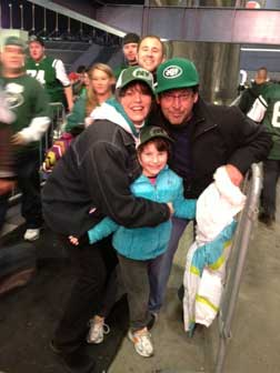 at the Jet Game Monday Night Football @ the New York Jet Game