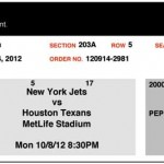 jet texan ticket 150x150 Monday Night Football @ the New York Jet Game