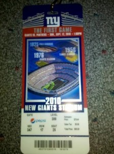 New Meadowlands Stadium 224x300 Opening Day: The New Meadowlands NY Giants